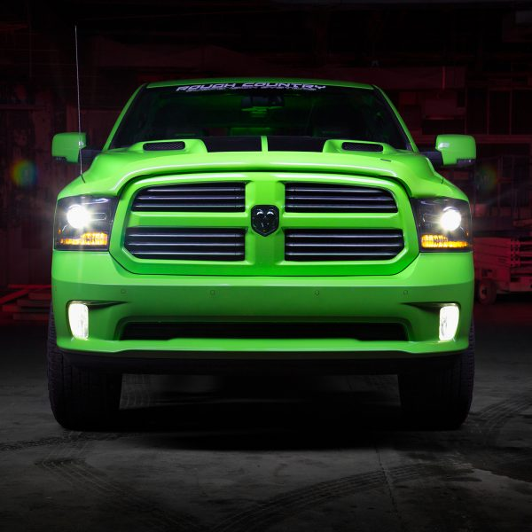 2017 Dodge Ram Sublime Green